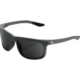 100% Hakan Gafas, soft tact cool grey/smoke